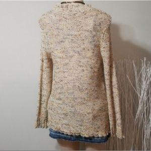 BCBGMaxAzria Sweaters - BCBGMaxAzria EarthTones Knit Button Down Sweater